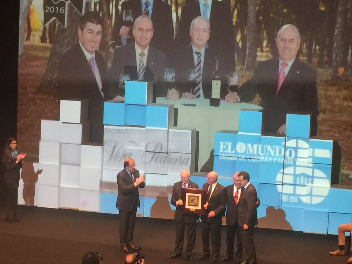 Premio Trayectoria La Posada de El Mundo 2016