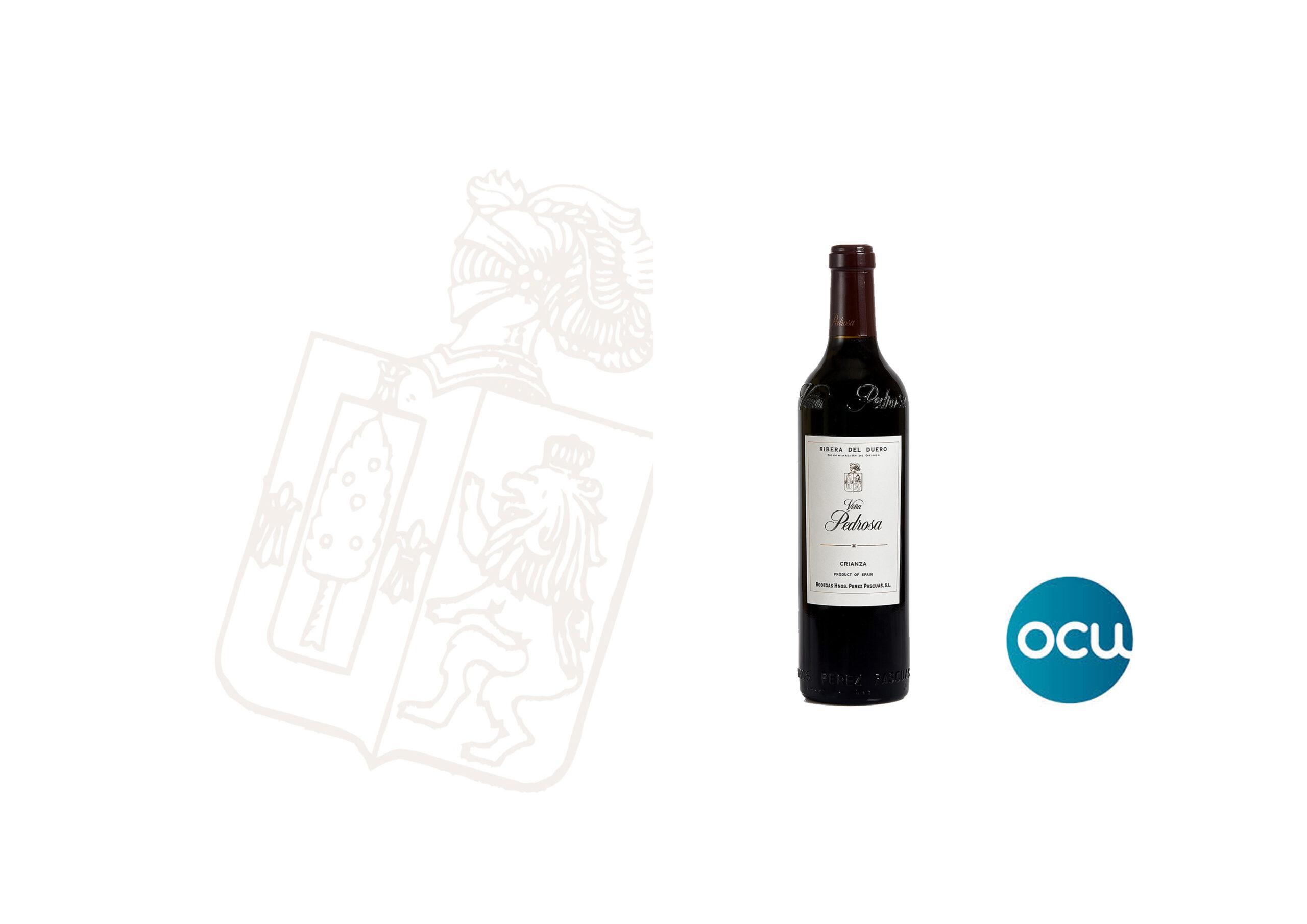 Viña Pedrosa Crianza 2016, Mejor Vino de España según la OCU.