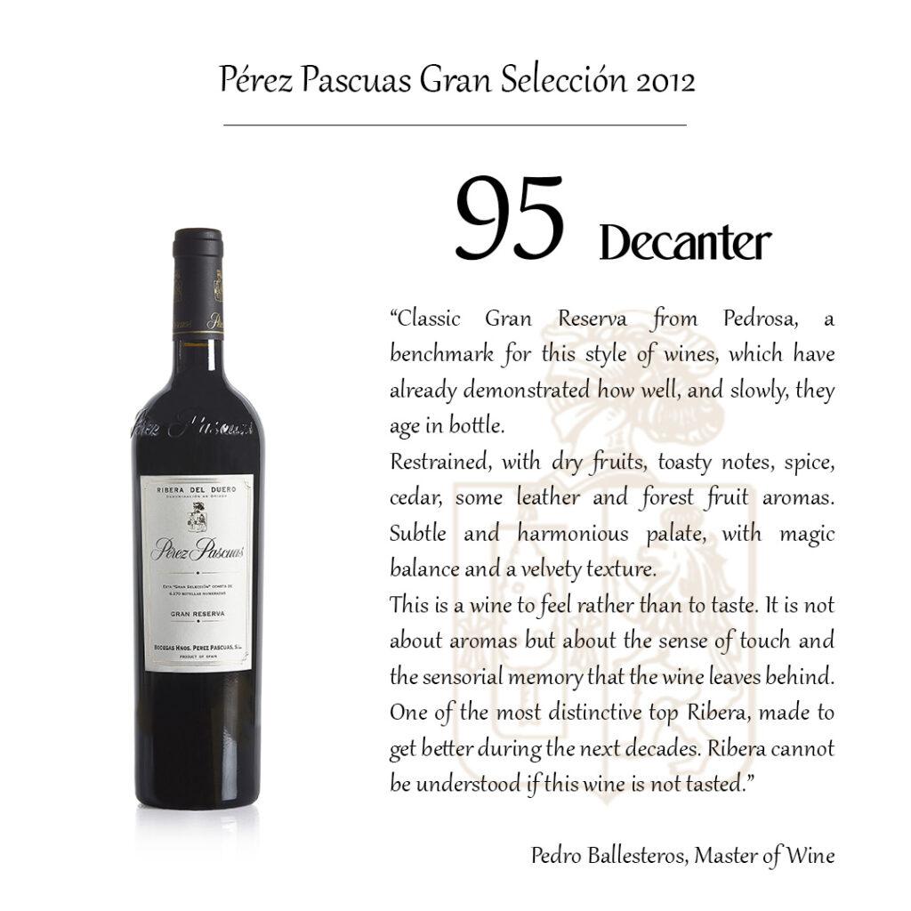 Pedro Ballesteros Master of Wine Decanter