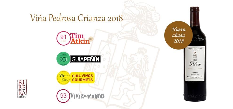 Vintage 2018 Viña Pedrosa